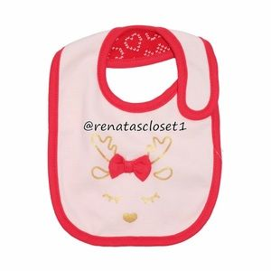 First Impressions Baby's Reversible Holiday Bib